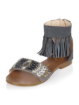 river-island-girls-fringed-embellished-sandals
