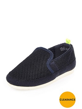 river-island-mini-boys-mesh-slip-on-pumps