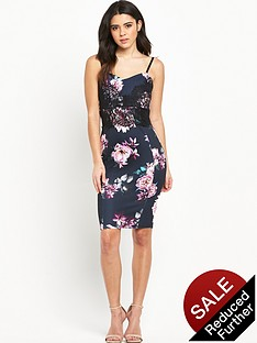 lipsy-floral-print-lace-strappy-dress