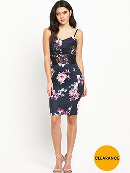 lipsy-floral-print-lace-strappy-dress