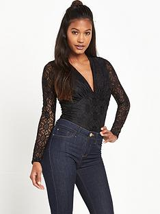 river-island-lace-plunge-body