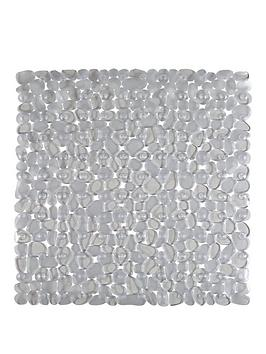 aqualona-clear-pebbles-shower-mat
