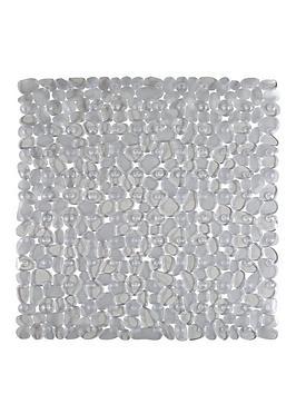 AQUALONA  Aqualona Clear Pebbles Shower Mat