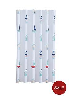 aqualona-beach-hut-shower-curtain