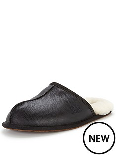 ugg-australia-scuff-leather-slippers