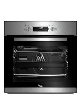 beko-bie22300xdnbsp60cm-built-in-electric-singlenbspoven-with-optional-connection-stainless-steel