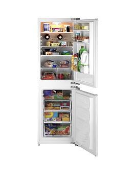 Beko Bc502 54.5Cm BuiltIn Fridge Freezer  White  Fridge Freezer With Connection