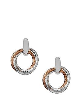 links-of-london-sterling-silver-and-18ct-rose-gold-aurora-two-tone-hoop-earrings