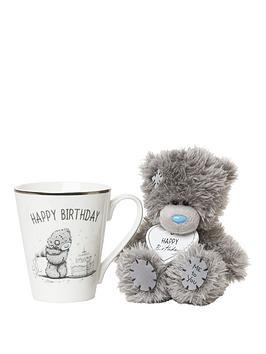 Me To You Me To You Birthday Mug &Amp Plush