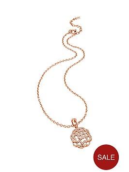 folli-follie-santorini-flower-rose-gold-plated-crystal-set-pendant