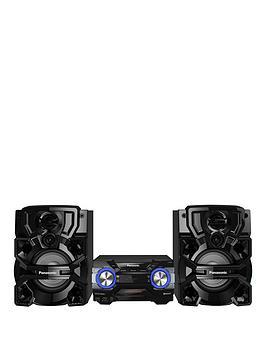 Panasonic ScAkx660EK 1700 Watt Hifi With Airquake Bass And Bluetooth  Black