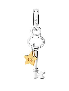 links-of-london-links-of-london-sterling-silver-and-18ct-yellow-gold-vermeil-18th-birthday-key-keepsake-charm