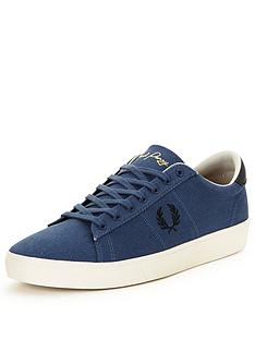 fred-perry-fred-perry-spencer-canvas-trainer-blue