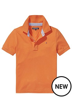 tommy-hilfiger-ss-classic-polo-orange