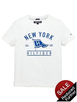 tommy-hilfiger-ss-flag-tee-white