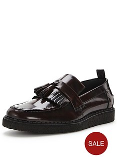 fred-perry-x-george-coxx-tassel-loafer