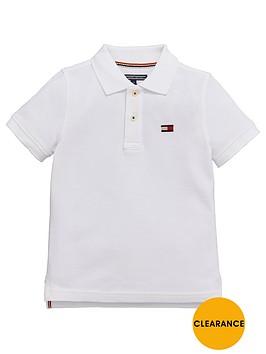 tommy-hilfiger-ss-big-flag-polo-white