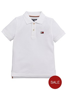 tommy-hilfiger-ss-big-flag-polo-white