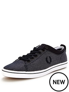 fred-perry-fred-perry-hallam-chambray-plimsoll-navy