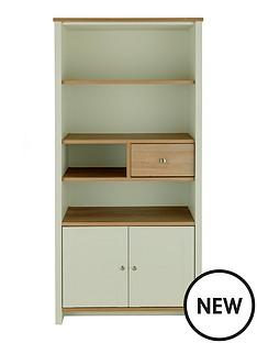 consort-tivoli-sage-ready-assembled-storage-bookcase