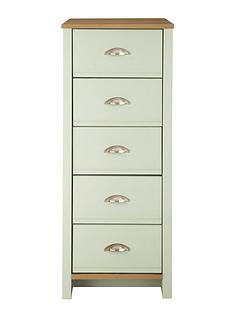 consort-consort-tivoli-sage-ready-assembled-tall-narrow-chest-of-5-drawers