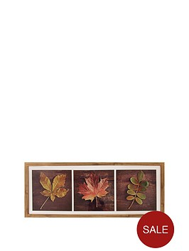 arthouse-set-of-3-autumn-leaves-in-wooden-frame