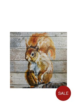 arthouse-squirrel-on-wood-wall-art