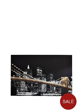 arthouse-glitter-in-the-city-canvas-wall-art-ndash-90-x-60-cm