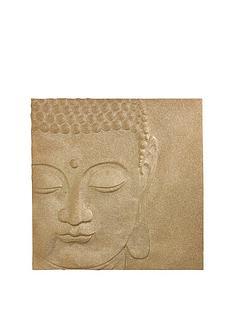 arthouse-glitter-buddha-canvas-gold