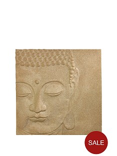 arthouse-glitter-buddha-canvas-in-gold