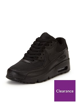 Nike Air Max 90 Junior Mesh Trainers  96c0fba6794e6
