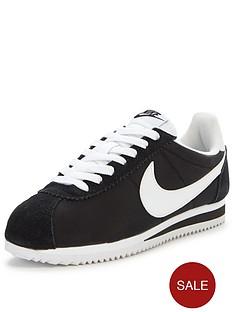 nike-classic-cortez-15-nylon-fashion-trainer-black