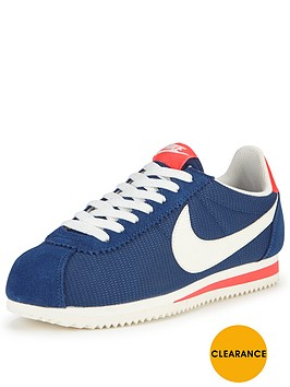 nike-classic-cortez-textile-fashion-trainers-blue
