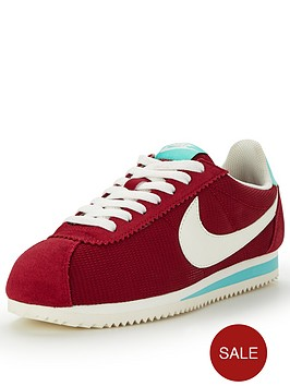 nike-nike-classic-cortez-textile-fashion-shoe-red