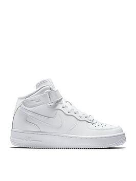 Nike Nike Air Force 1 Mid 06 Junior Trainer Picture