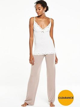 v-by-very-polka-dot-cami-pyjama-set