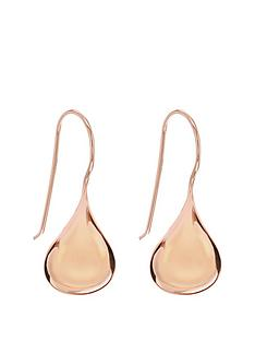 the-love-silver-collection-rose-gold-plated-sterling-silver-bomber-earrings