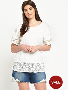 so-fabulous-lace-sleeve-and-hem-t-shirt