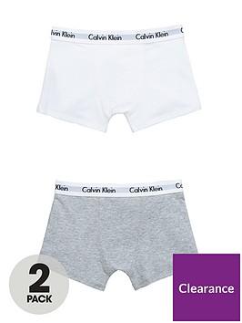 calvin-klein-boys-whitegrey-trunks-2-pack
