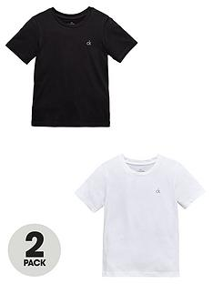 calvin-klein-boys-blackwhite-modern-lounge-t-shirts-2-pack