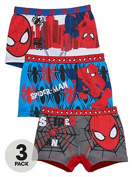 spiderman-boys-trunks-3-pack