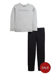 calvin-klein-2pce-jersey-pj-set-greyblk
