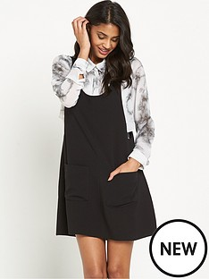 vero-moda-carrie-pinafore-dress-blacknbsp