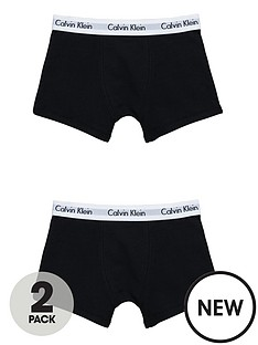 calvin-klein-boys-black-trunks-2-pack