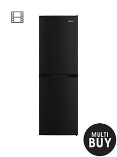 swan-sr70140bnbsp55cm-static-fridge-freezer-black
