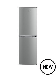 swan-55cm-static-fridge-freezer-silver