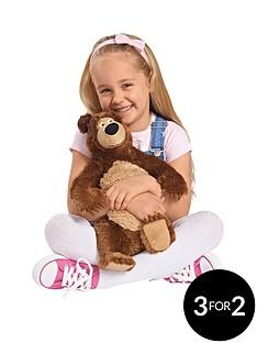 masha-plush-bear-35cms