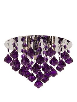 maya-diamond-flush-ceiling-light