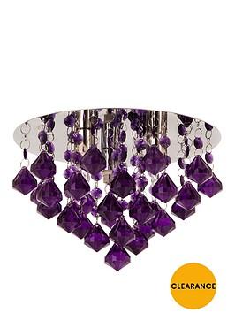 maya-diamond-flush-ceiling-light