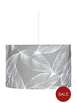 leaf-stencil-easy-fit-lamp-shade